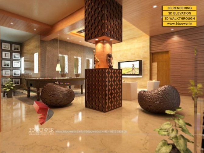 3D Apartment Rendering  Walkthrough Services by 3D Power