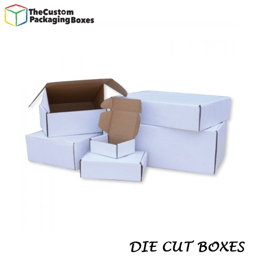 Custom Die cut boxes with refine edges