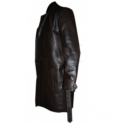 The Untouchables Kevin Costner leather Coat