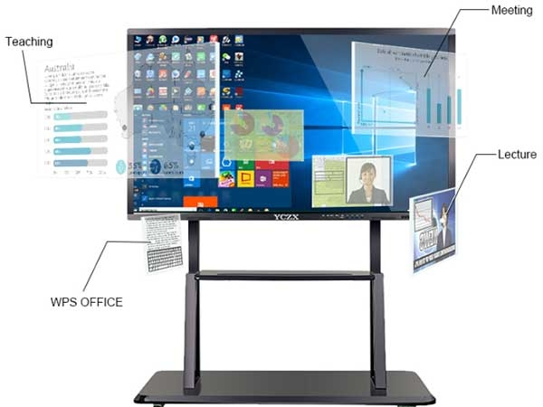 98 Inch Big Touch Screen PC For BusinessEducation