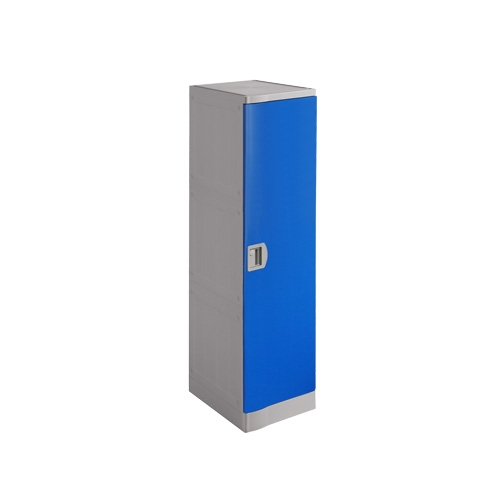 ABS Plastic Locker T-382XL: Single Tier, Flexible Combination