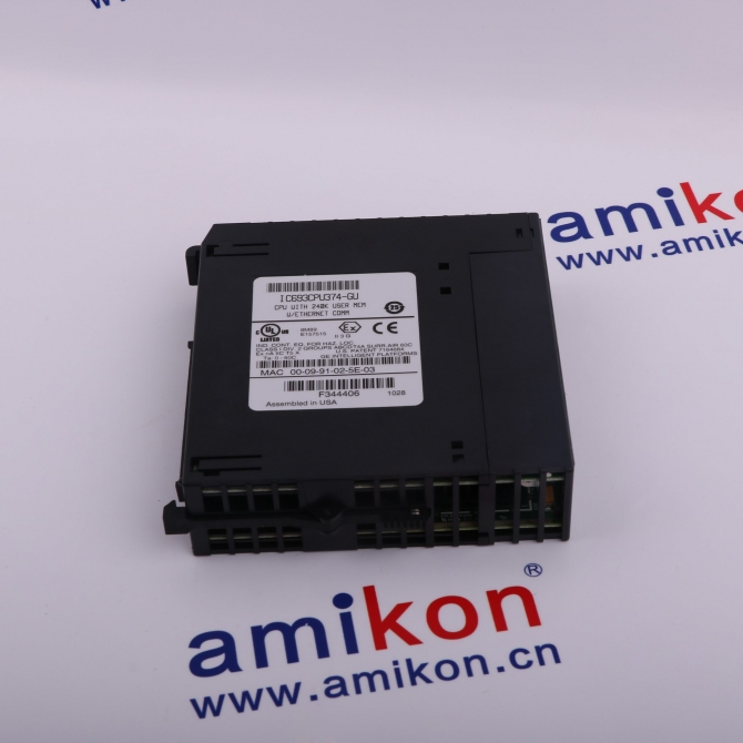 IN STOCK GE  IC693CPU341      PLS CONTACT:  sales8@amikon.cn