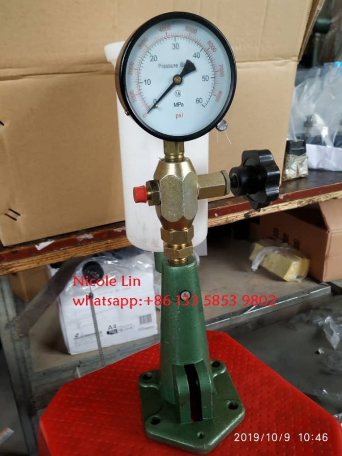 nozzle injector tester S60H for common rail engine