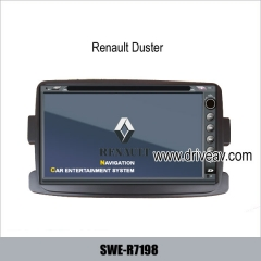 Renault Duster stereo radio car dvd player gps navigation tv bluetooth SWE-R7198