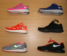 New shipment of Nike Free Run and Eclipse running shoes just arrived in Tuscaloosa