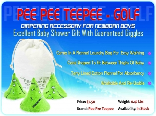 Buy Pee Pee Teepee for Baby Boys @ USD 7.50