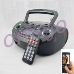 Bathroom spy camera hidden clock radio bedroom spy camera - Hidden camera in bathroom accessories ...