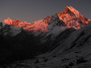 Annapurna circuit trekking, trek around Manang valley and Thorong-la pass