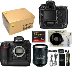For Sale: Nikon D4, Canon EOS 1D, Nikon D3X