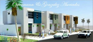 Economic townhouses for sale in Manta