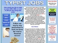 Home Based Typing Jobs