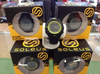 The Soleus GPS running watches are here in Tuscaloosa at The Athlete's Foot!!