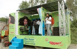 Road Show Organizers, Advertising Mobile Hoarding Vans Organisers, Mobile Hoarding Vans, Advertising Mobile Vans, Mobile Cabs Pan India.