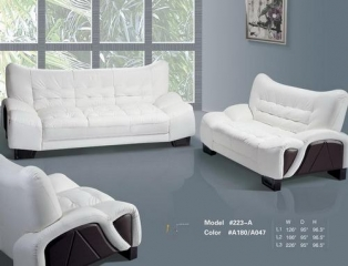 Leather sofa sets-Z3223(YISO FURNITURE)