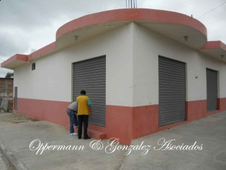 Commercial locales for rent in Manta.